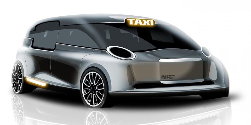The inclusively designed Future London Taxi