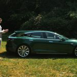 Tesla Model S based Shooting Brake