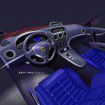 Breadvan Hommage interior design proposal blue