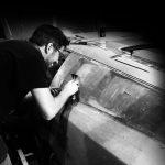 Breadvan Hommage clay modelling coachbuilder