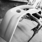hand made bespoke bumper Breadvan Hommage