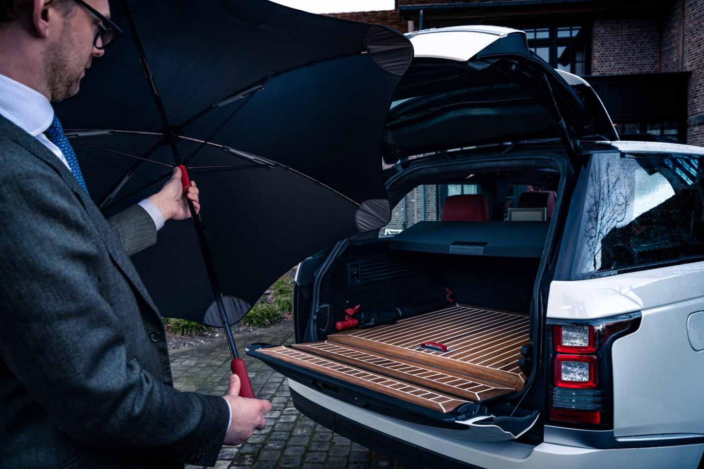 Paraplu's voor in de auto | kleuren en materialen voor coachbuilding
