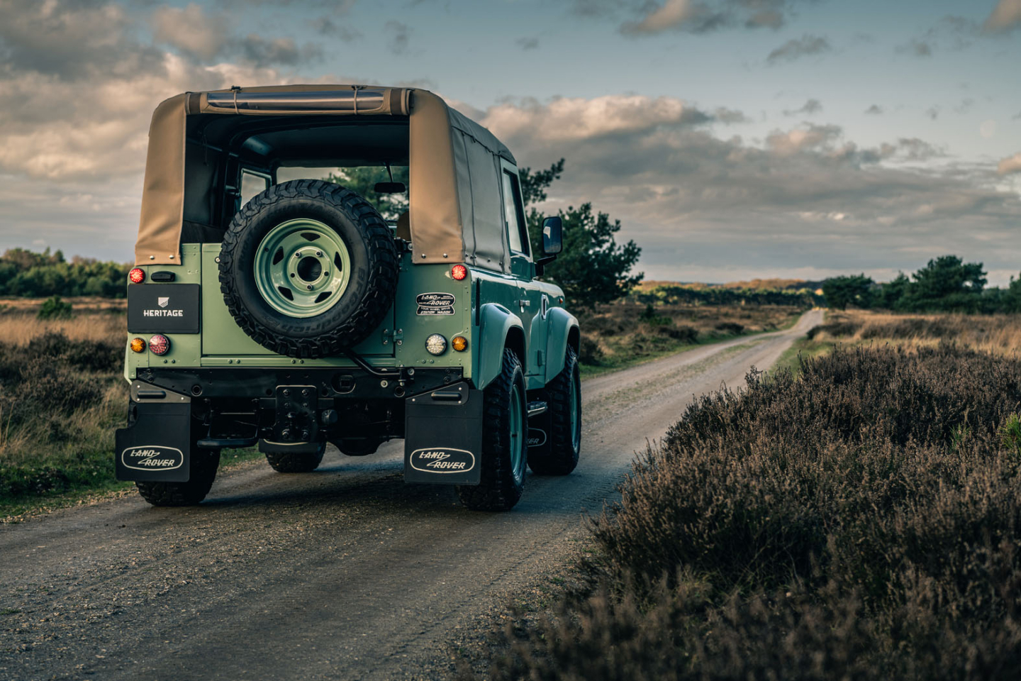 Land Rover Defender for Heritage Customs