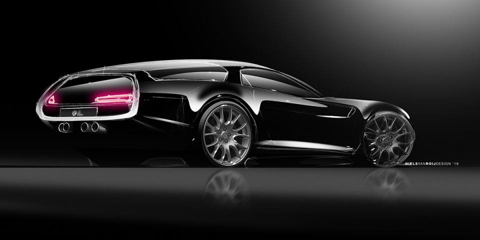 DAYTONA SHOOTING BRAKE HOMMAGE