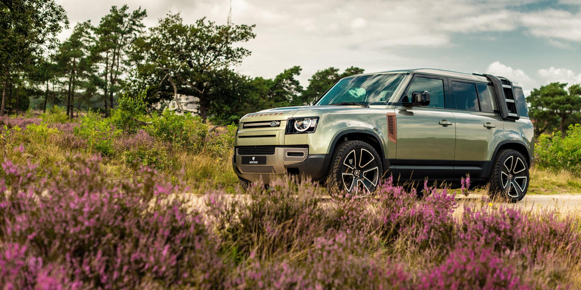 HERITAGE CUSTOMS VALIANCE VERDIGRIS – New Land Rover Defender